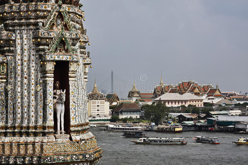 Thailand, Bangkok,  the Chao Phraya river