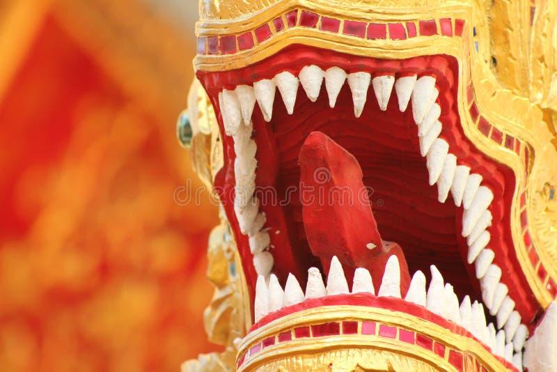 Thailand Bangkok Dragon Temple lizenzfreie stockfotografie