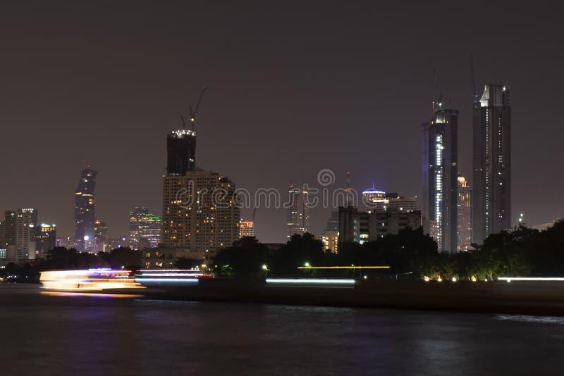 thailand Bangkok Flod royaltyfria foton