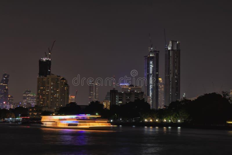 thailand Bangkok Flod royaltyfri fotografi