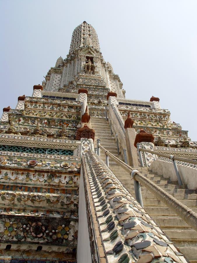 Thailand Bangkok - herauf die Jobstepps stockfotos