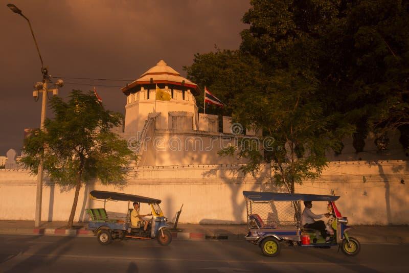 THAILAND BANGKOK MAHAKAN FORT fotografering för bildbyråer