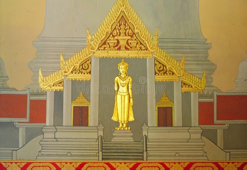 Thailand Bangkok The Marble Temple Stock Photo Image Of