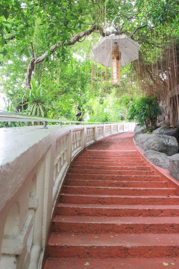 Thailand bangkok trappuppgångväg arkivbild