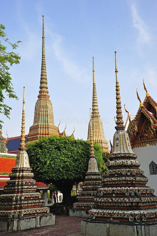 Download Thailand Bangkok Wat Pho Temple's Chedis Stock Photo - Image: 5371060