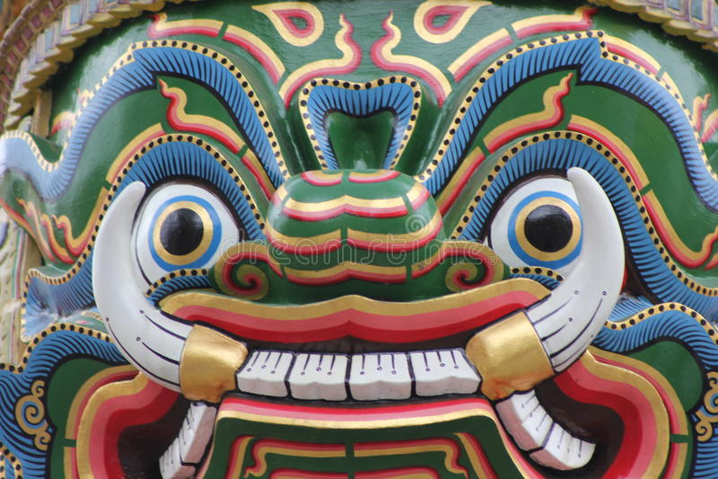 Thailand Bangkok Wat Phra Kaew lizenzfreies stockbild