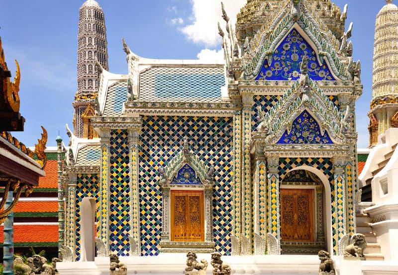 Thailand Bangkok Wat Phra Kaew stockfotografie