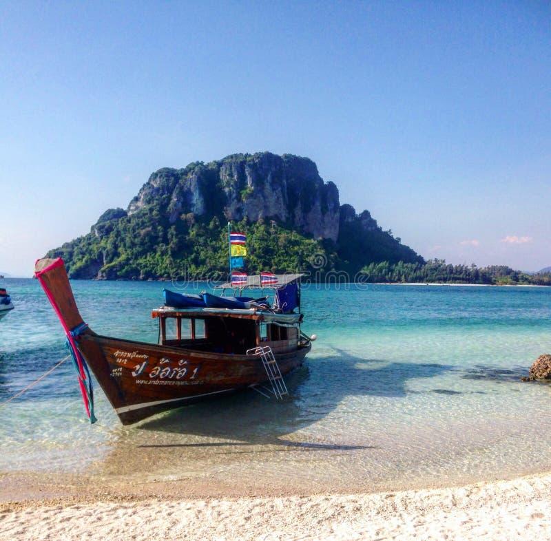 Thailand barkass fotografering för bildbyråer