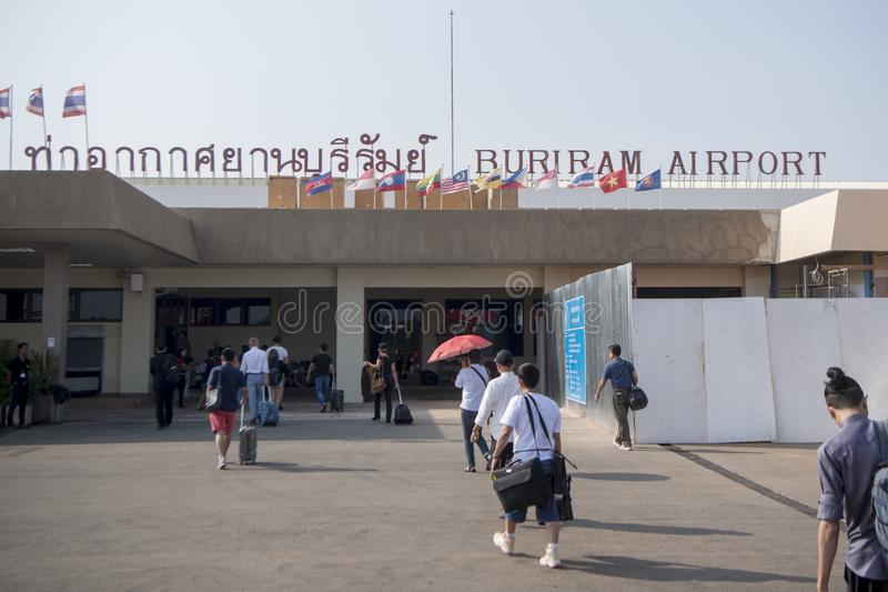 THAILAND BURIRAM AIRPORT stock photography