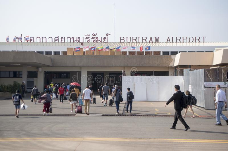 THAILAND BURIRAM AIRPORT royalty free stock image