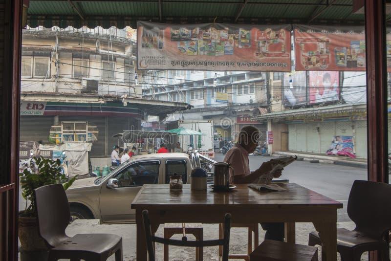 THAILAND CHANTHABURI CAFE RESTAURANT royalty free stock images