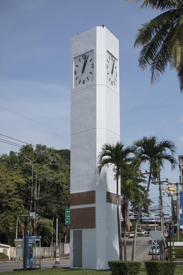 THAILAND CHANTHABURI CITY CLOCK TOWER stock photos