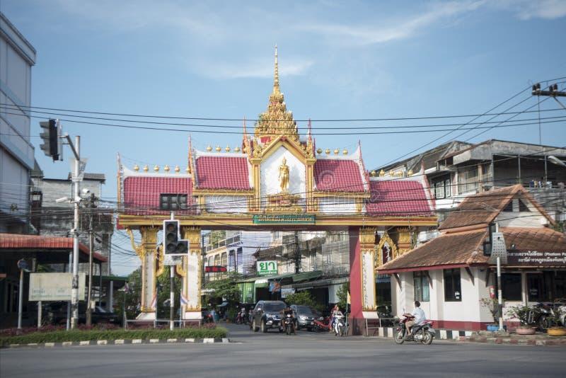 THAILAND CHANTHABURI CITY GATE royalty free stock image