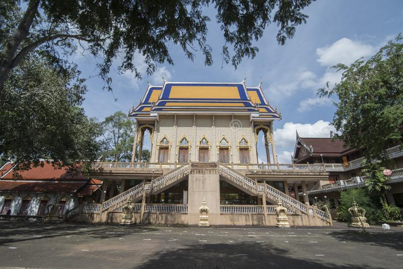 THAILAND CHANTHABURI WAT CHANTANARAM TEMLE royalty free stock photo
