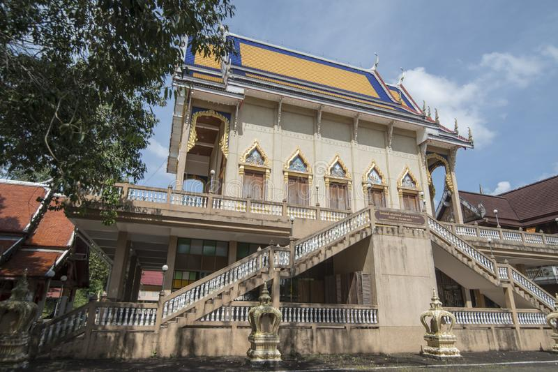 THAILAND CHANTHABURI WAT CHANTANARAM TEMLE royalty free stock image
