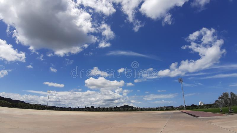 Thailand cloud sky country light. Thailand cloud sky country royalty free stock image