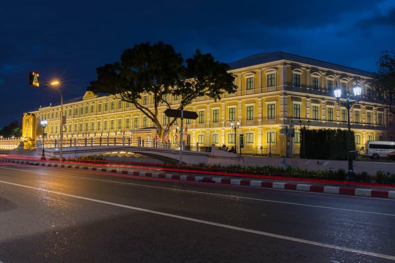 Thailand departement av f?rsvarbyggnad bangkok thailand royaltyfria foton