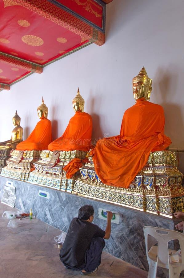 Thailand - Dhyana Buddha - Dekorateur lizenzfreies stockbild