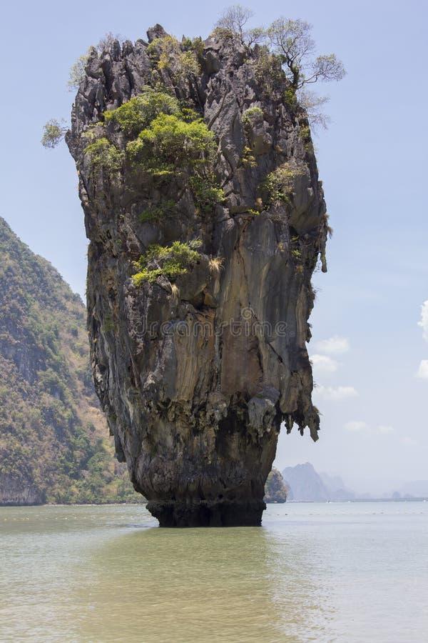 Thailand, eiland, overzees, strand, Racha, water, oceaan, kust, blauw, hemel, landschap, de zomer, aard, eiland, tropische reis,  royalty-vrije stock afbeeldingen