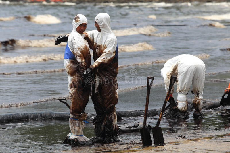 THAILAND-ENVIRONMENT-OIL-POLLUTION 编辑类图片