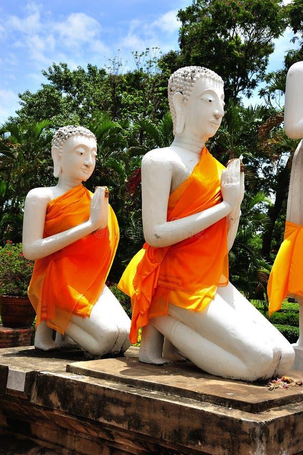 thailand för ayutthayachai mongkhon wat yai royaltyfria foton