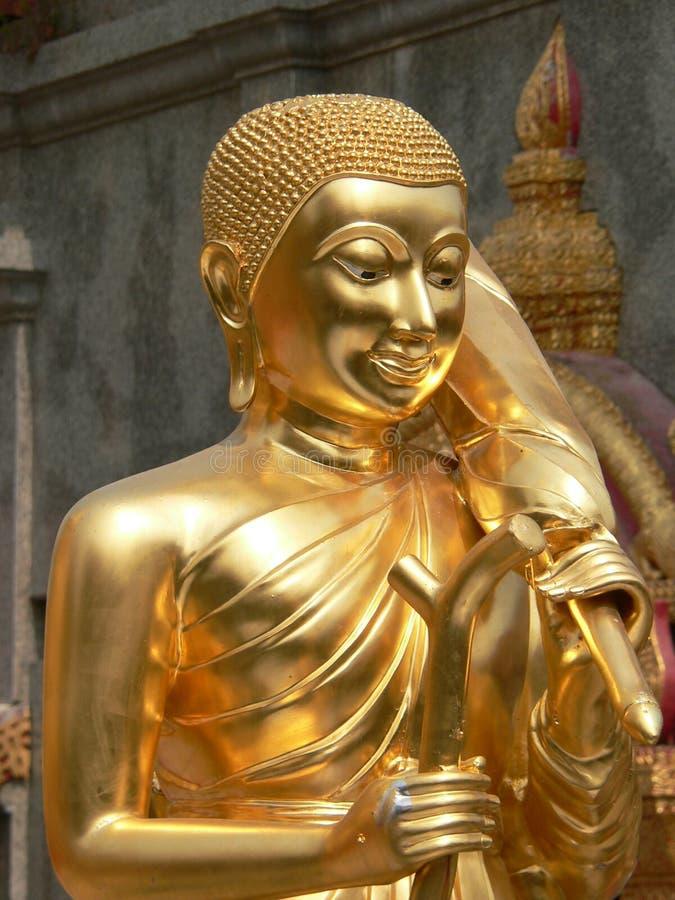 thailand för suthep för staty för chiangdoimai wat arkivbilder