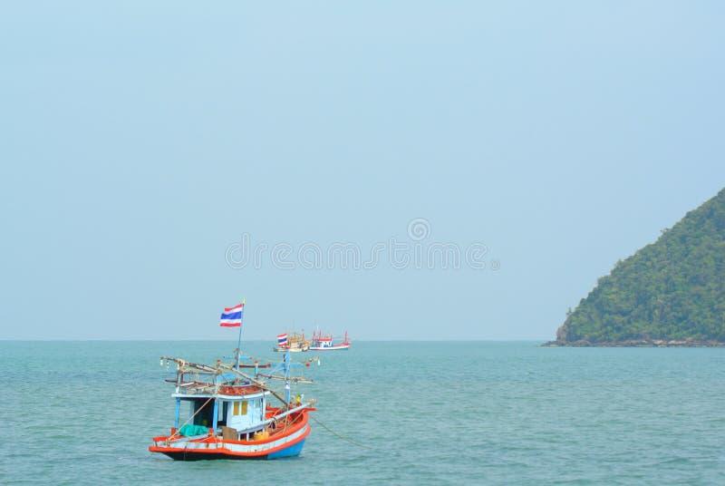 Thailand fiskebåt arkivbilder