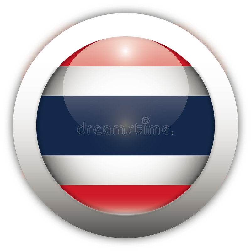 Download Thailand Flag Aqua Button Stock Photography - Image: 2304222
