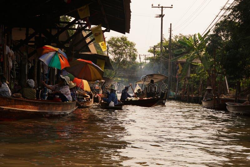 Thailand Floating Market stock image