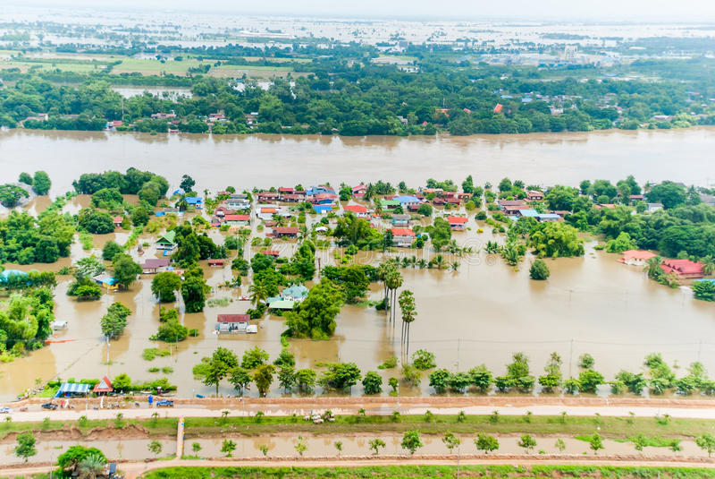 Thailand-Fluten lizenzfreies stockbild