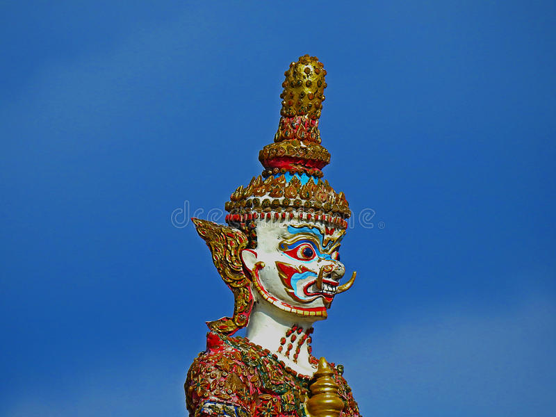 Thailand Giant statue. royalty free stock photography