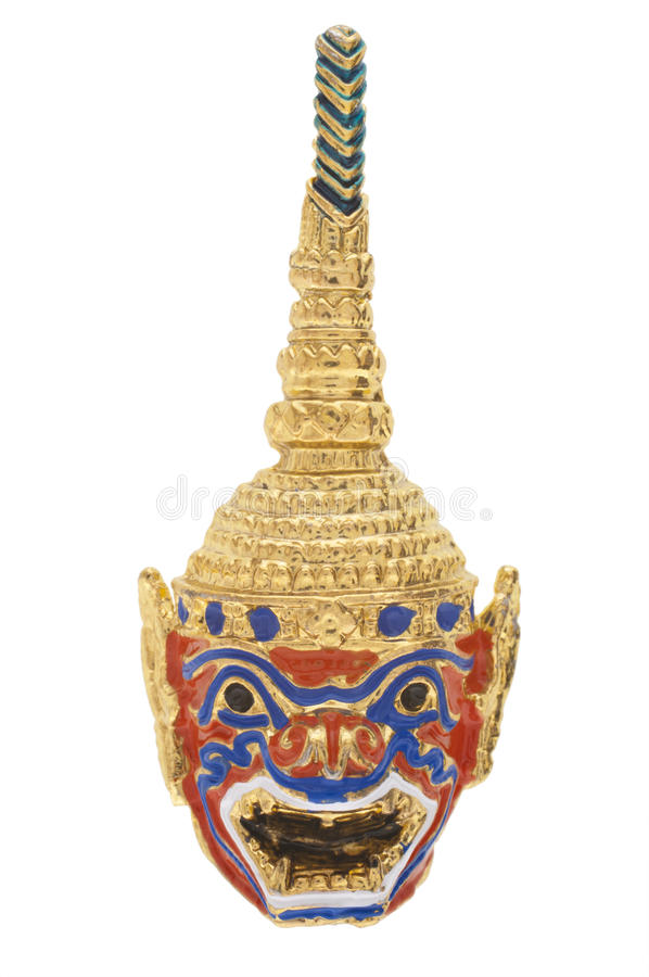 Thailand Gold Mask Stock Images