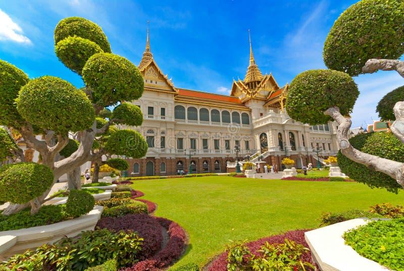 Thailand - Groot Paleis, Bangkok stock fotografie