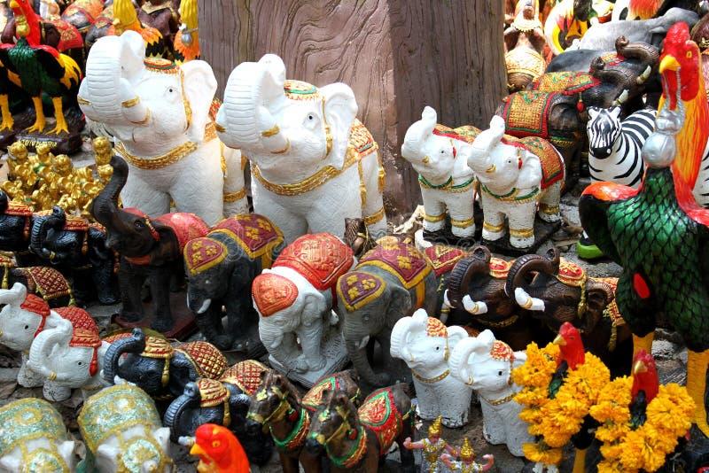 Thailand Khaoyai Sculpture Model royalty free stock photo