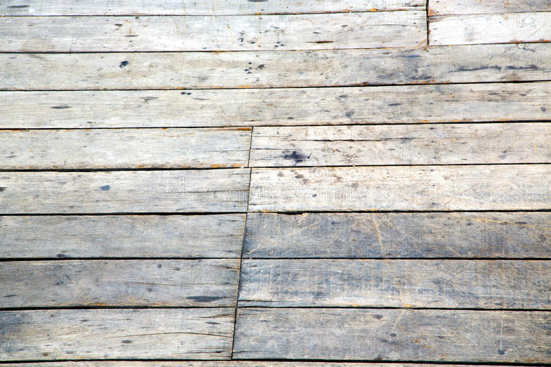 Thailand kho samui abstract texture of a brown wood royalty free stock photography