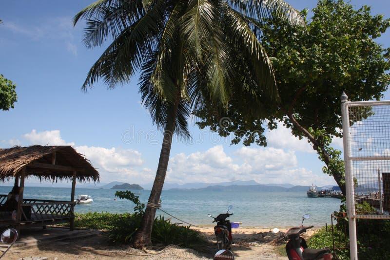 Thailand Koh Phayam Island arkivbild