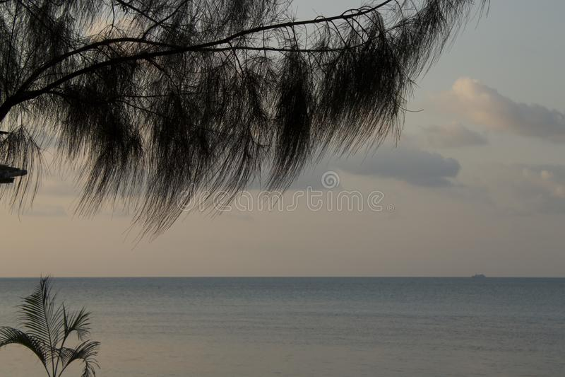 Thailand Koh Samui Beach royaltyfria bilder
