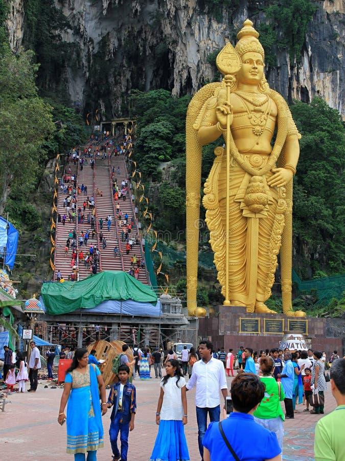 Thailand, Kuala Lumpur und Singapur 2017 stockbilder