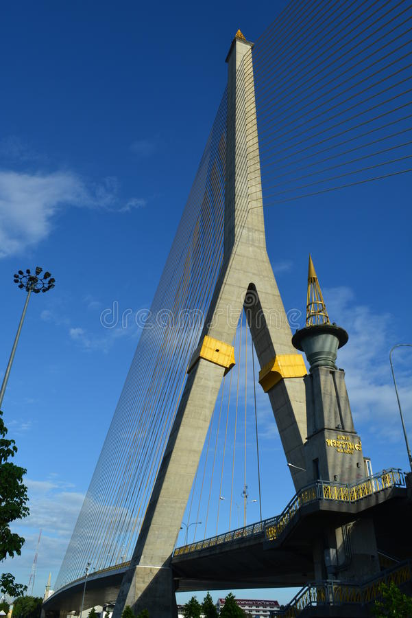 Download Thailand marks stock image. Image of rama, view, bridge - 43988443