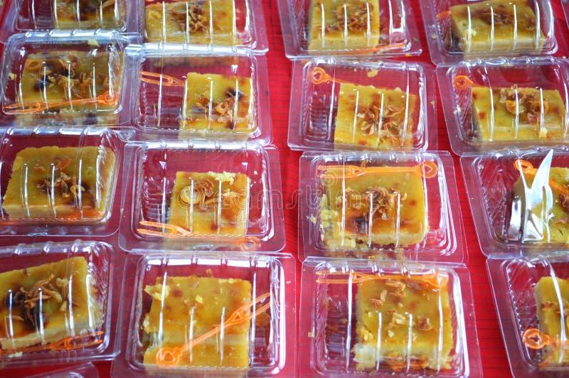 Thailand-Nachtisch im Kasten stockbild