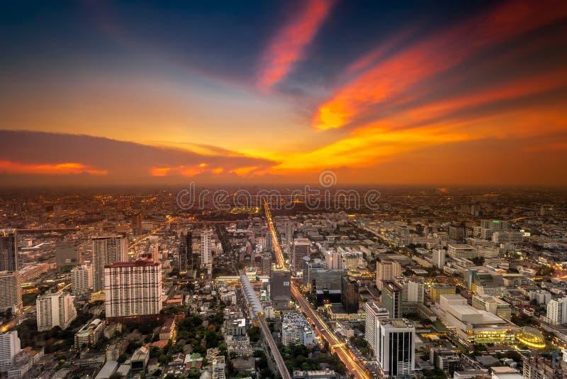 Thailand at nighttime royalty free stock photos