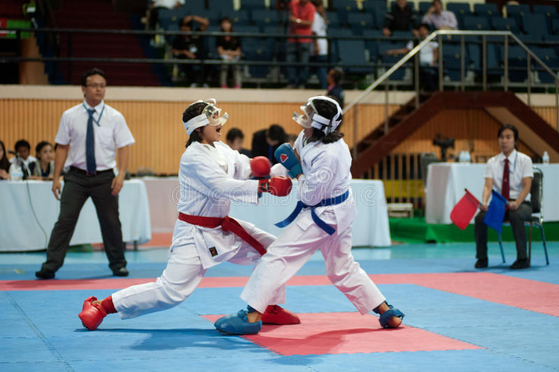 Download Thailand Open Karate-Do Championship 2013 Editorial Photography - Image: 33650422