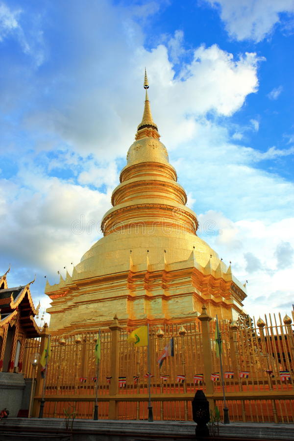 Download Beautiful Pagoda In The Northern Thailand Temple Stock Photo - Image: 26628300