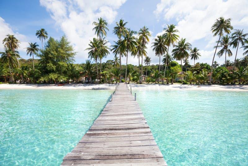 Thailand, paradise Koh Kood, beach on Ko Kut island stock photo