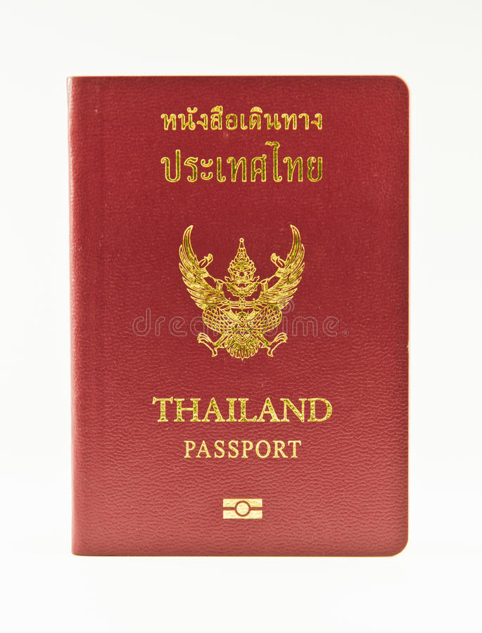 Download Thailand Passport stock photo. Image of identify, journey - 25973204