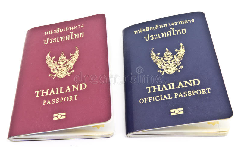 Download Thailand Passport And Thailand Official Passport Stock Image - Image: 22528459