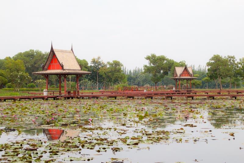 Thailand-Pavillon stockbild