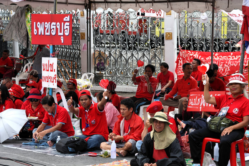 Download Thailand protests editorial stock photo. Image of group - 8931273