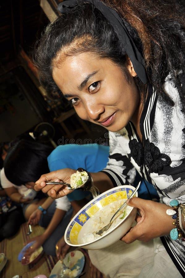 Free Thailand Reggae Women Food Dinner Rice Royalty Free Stock Photo - 25428185
