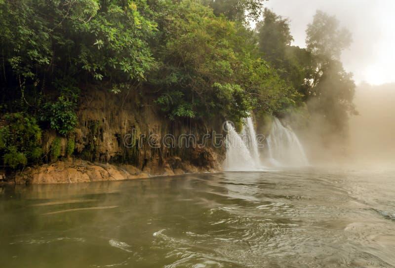 Thailand. Rivier Kwai stock afbeelding